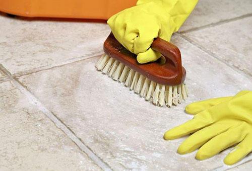 Чем отмыть напольную плитку после ремонта: кафель на полу, грунтовка для керамогранита, чистка и как мыть