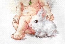 Вышивка крестом ангелы: схемы крестиком ангелочков света, набор для вышивания, как вышить хранителя
