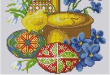 Пасхальные вышивки крестиком: схема рушника на пасху, мотивы бесплатные, маленькая тематика и где скачать миниатюры