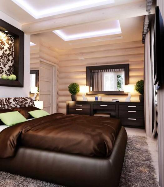 Дизайн деревянного дома внутри в фото и видео