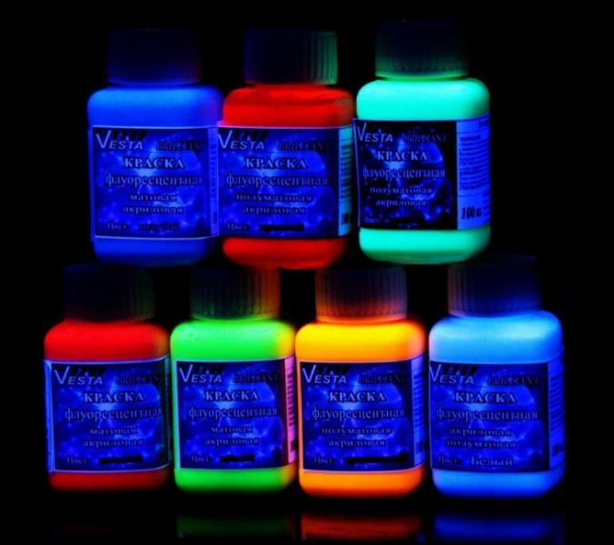 Краска светоотражающая аэрозольная и сделанная своими руками