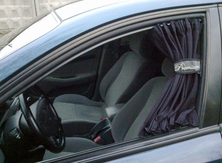 Автомобильные шторки на боковые окна своими руками