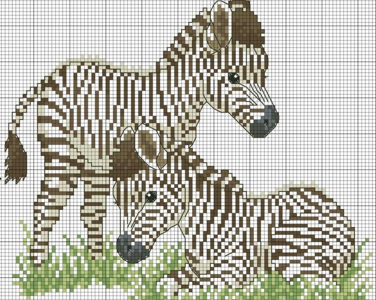 Вышивка крестом животные схемы: крестиком бесплатно, радужное вышивание по клеточкам, картинки зверей и дети