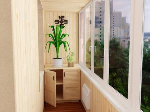Как самому сделать тумбочку на балкон