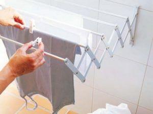 Как сделать сушилку для белья на балкон своими руками