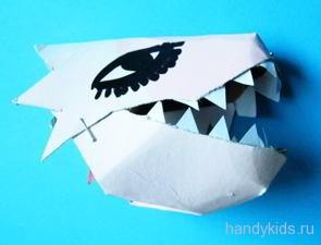 Маска дракона своими руками из бумаги и картона с фото и видео
