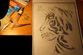 Как сделать картину из страз сваровски своими руками с фото