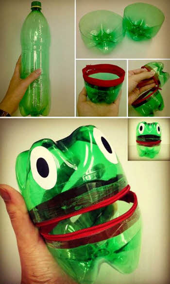 Поросенок из пластиковой бутылки: пошаговая инструкция с видео