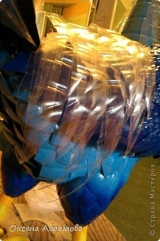 Петух из пластиковых бутылок: мастер-класс с фото и видео