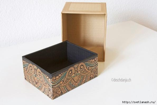 Как сделать коробочку из картона своими руками: схема и шаблон с мк
