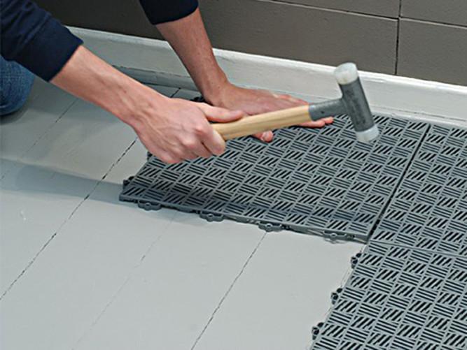 Технология укладки резиновой плитки