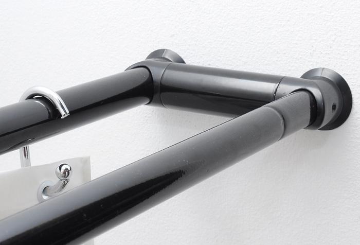 Телескопическая штанга для ванной комнаты: плюсы и минусы