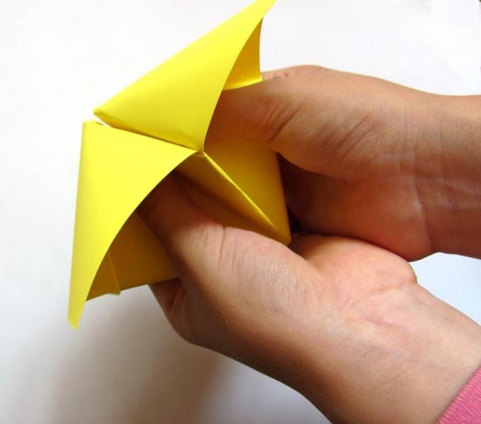 Как сделать из бумаги гадалку своими руками поэтапно – фото, видео