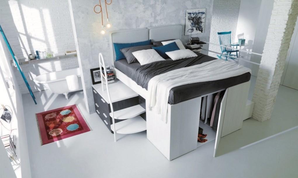 Кровать-гардеробная