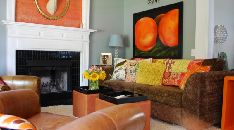 Гамма персикового цвета