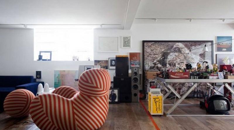 Современный дизайн студии