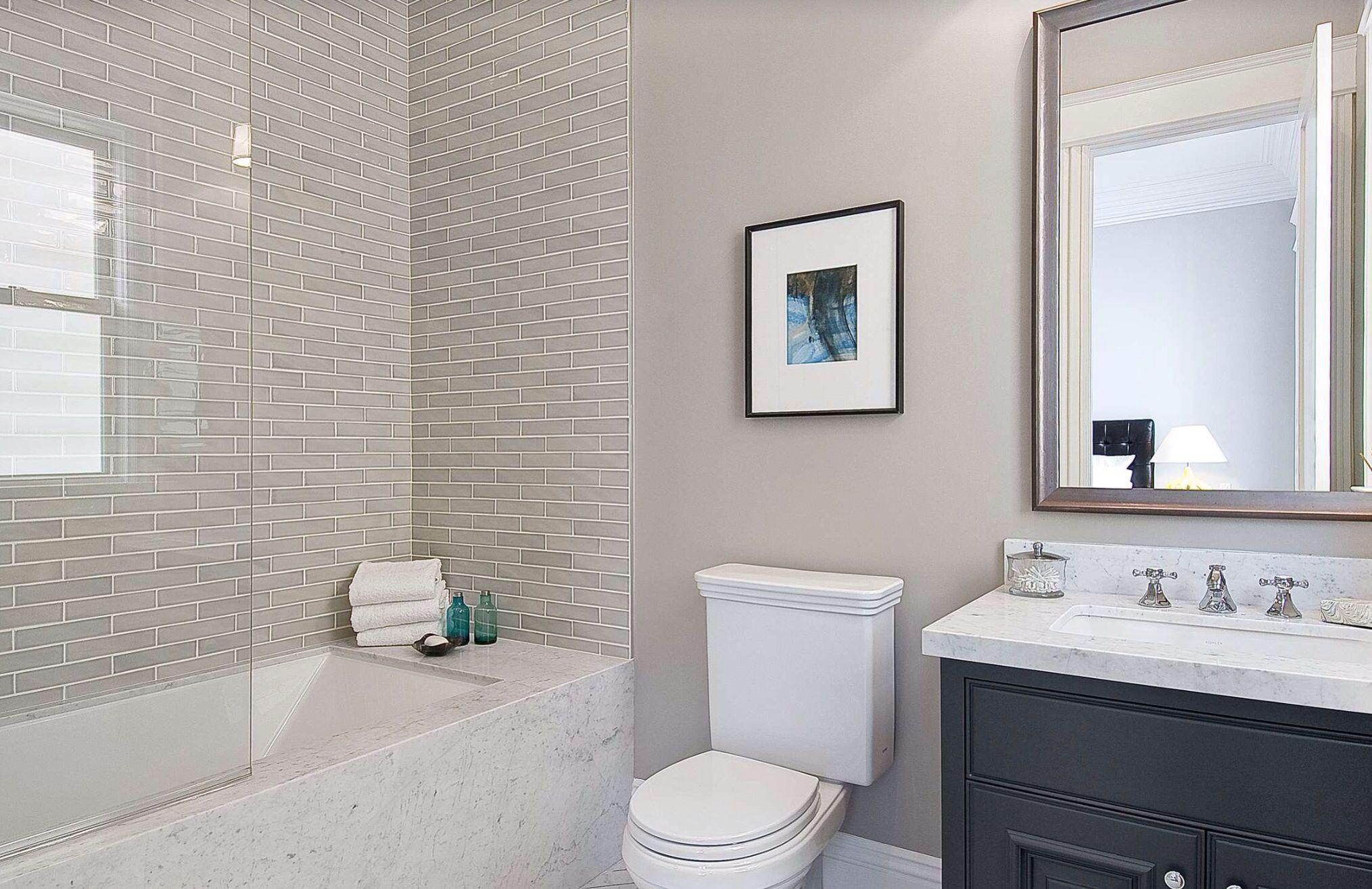 Ванная комната Дизайн маленькой ванной без кафеля
