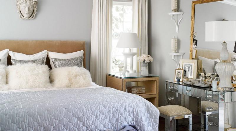 Интерьер для маленькой спальни