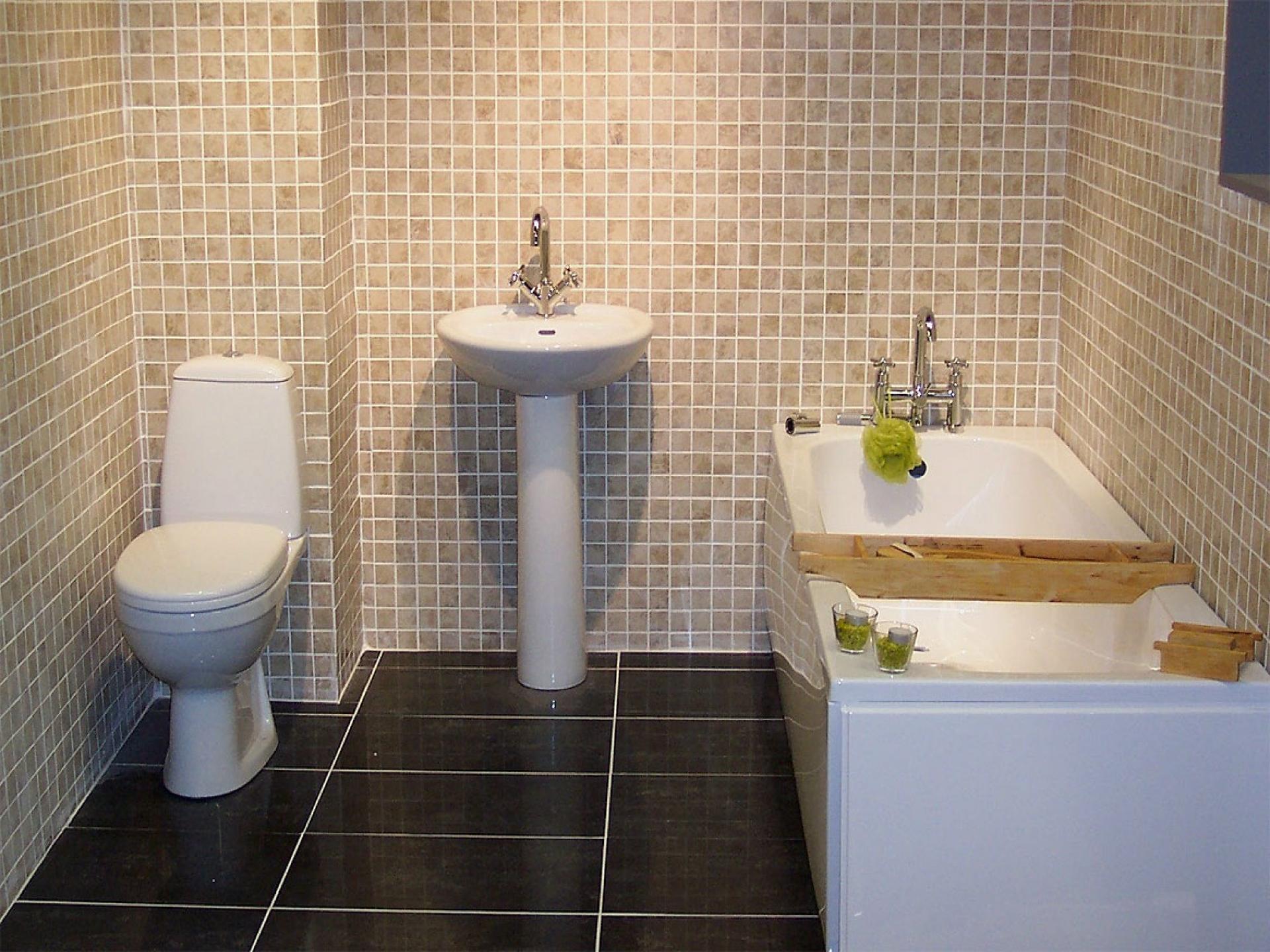 Дизайн ванны с зеркалом