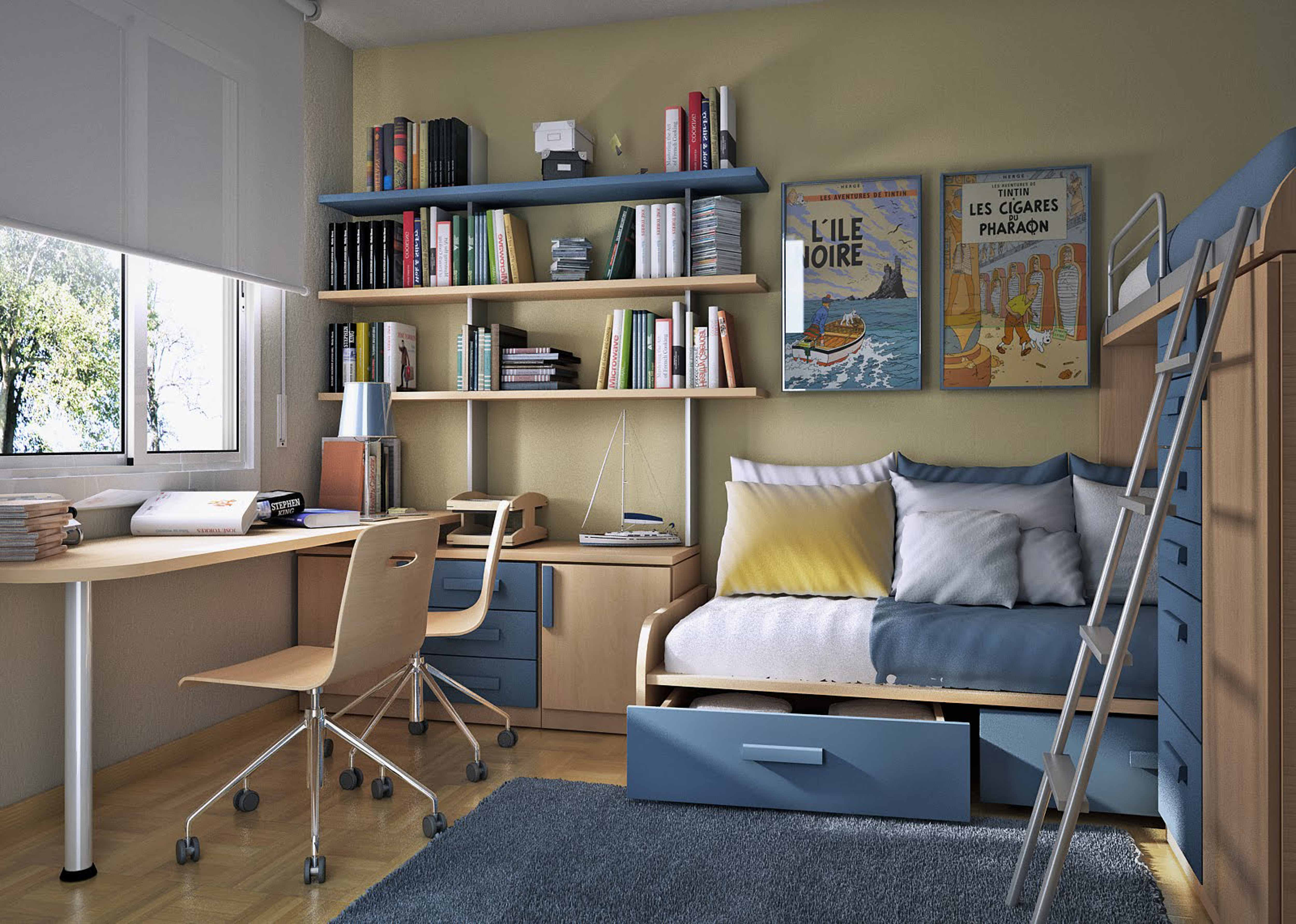 Дизайн детской комнаты для двух мальчиков (30 фото).