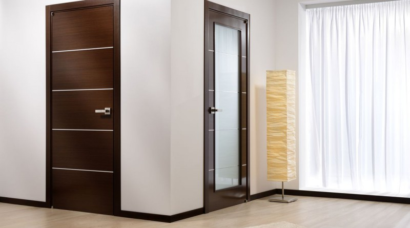 Двери в интерьере комнаты