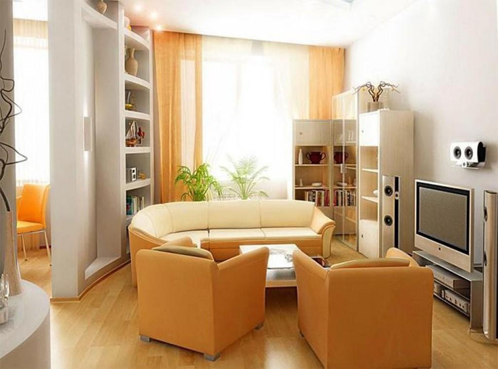 Дизайн комнаты маленького размера 12 м.кв.