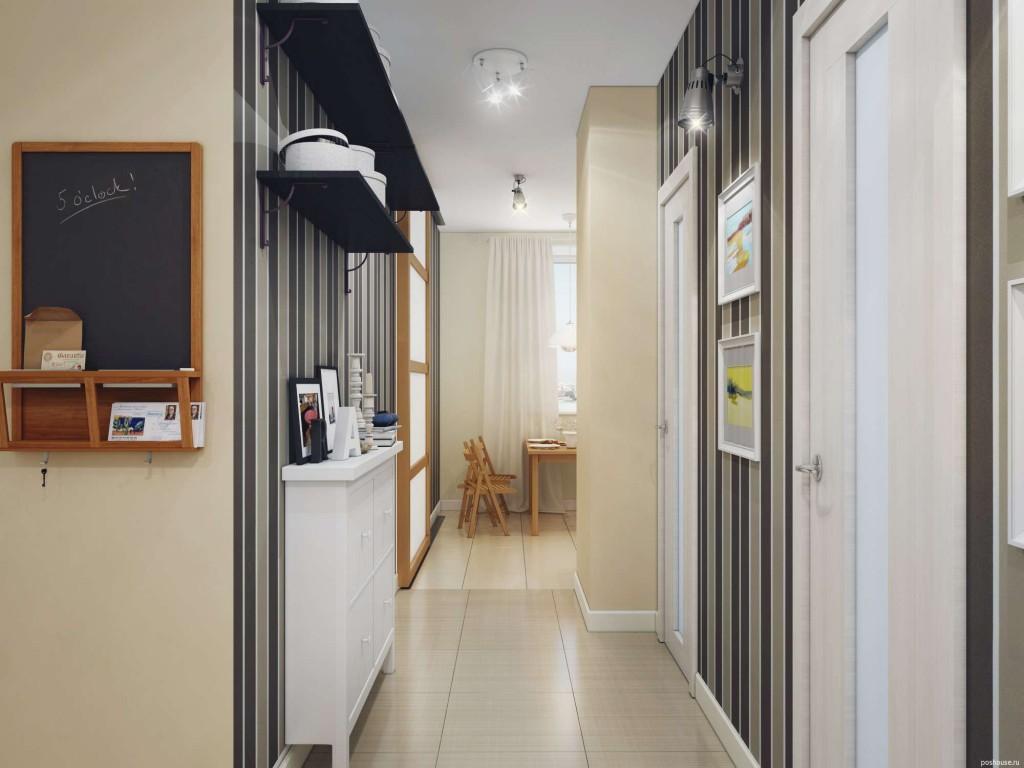 Оформление коридора - основные ошибки: маленький коридор делают слишком темным; в узких небольших прихожих размещают слишком много мебели; из коридора ведет в комнаты слишком много дверей, по возможности хотя бы одну следует убрать; в оформлении прихожих часто забывают об уюте и гармонии с другими комнатами в квартире.