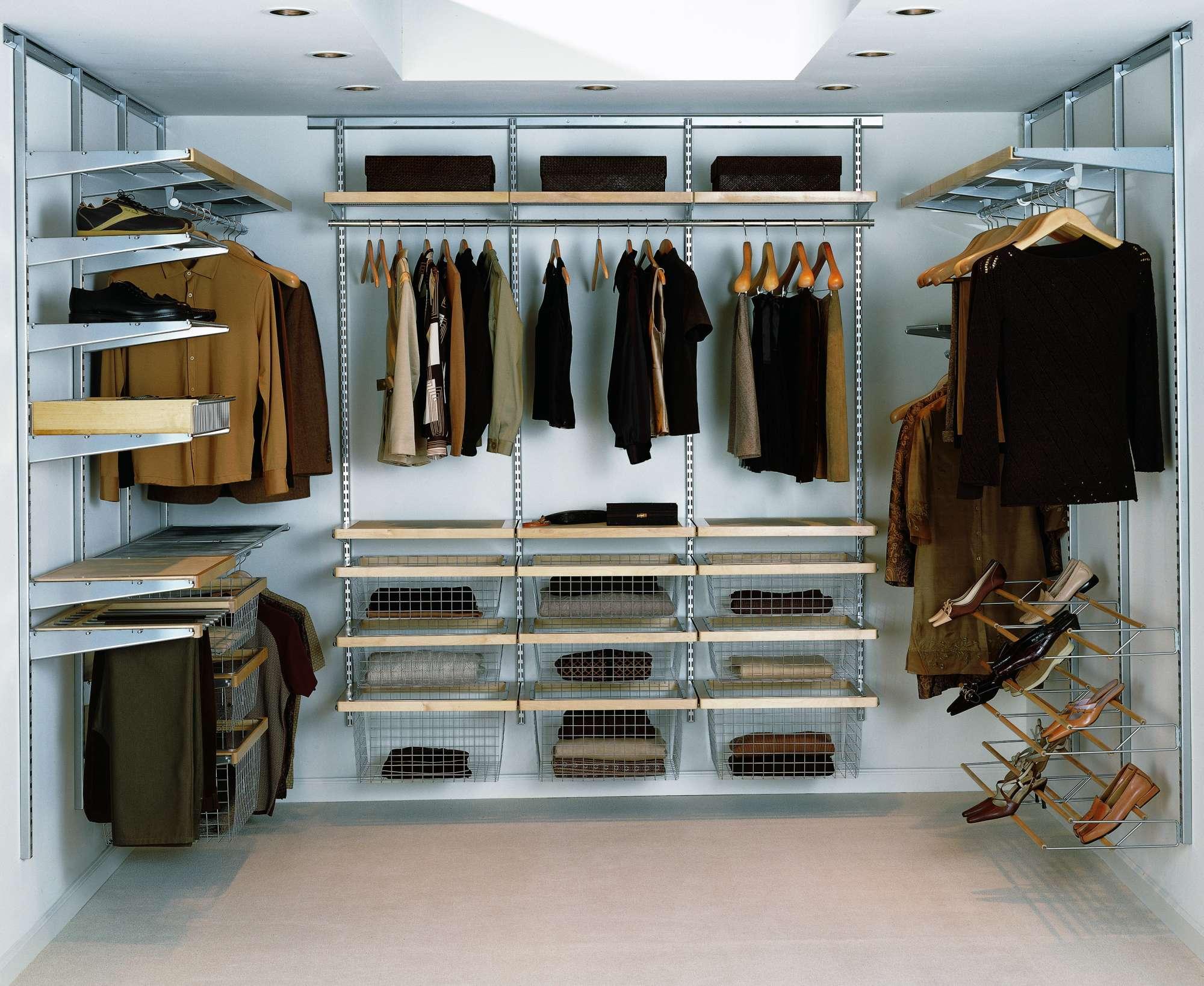 схема гардеробные комнаты