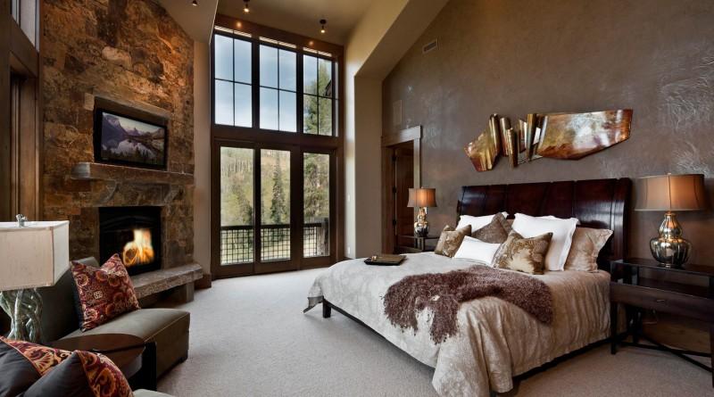 интерьеры спальни в стиле фьюжен