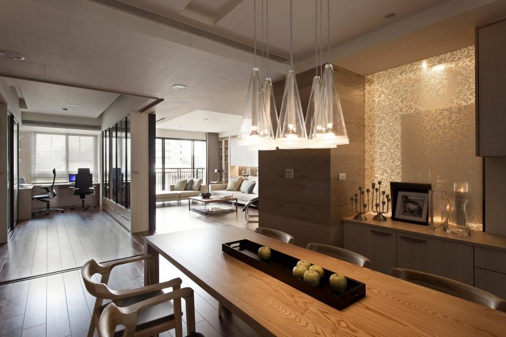 Дизайн квартиры студии в экологическом стиле