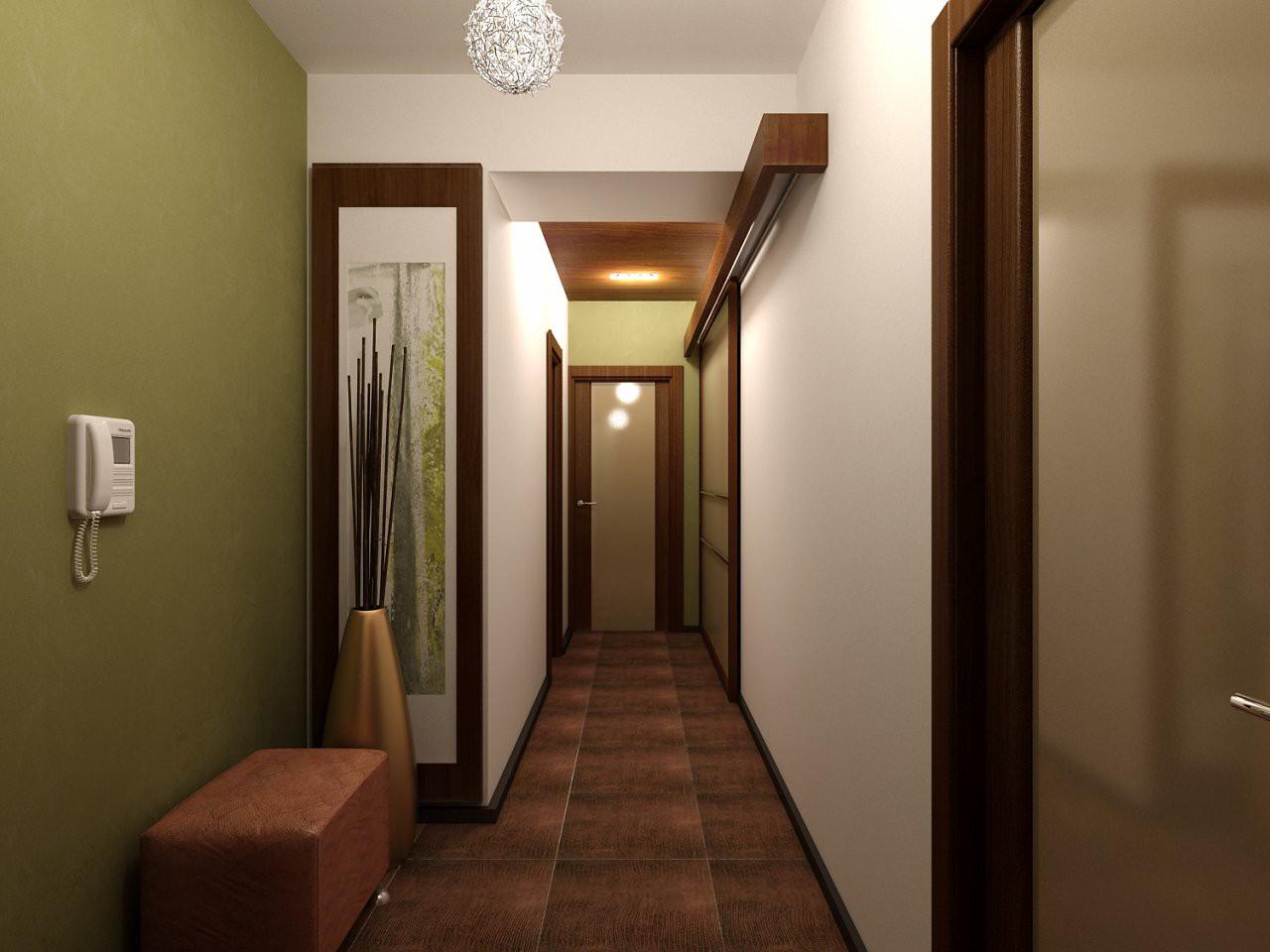Дизайн в коридора