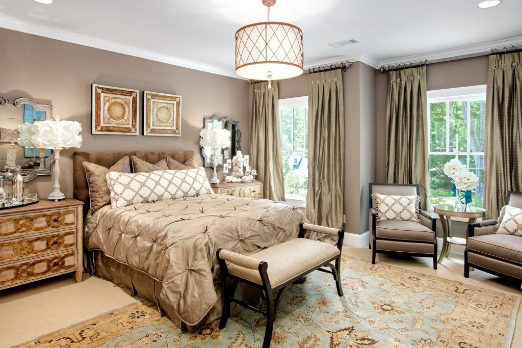 интерьеры спальни в стиле прованс