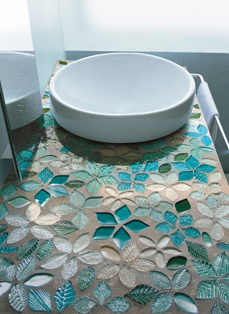 Мозаика своими руками в ванную