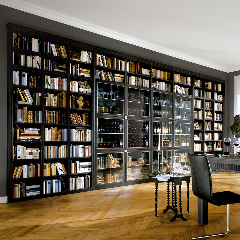 Оформление библиотеки: способы и современный подход (30 фото.