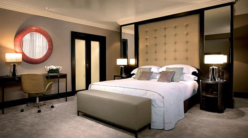 Интерьеры спальни современного стиля