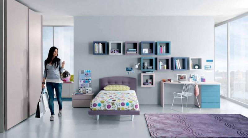 Комната для подростка в современном стиле