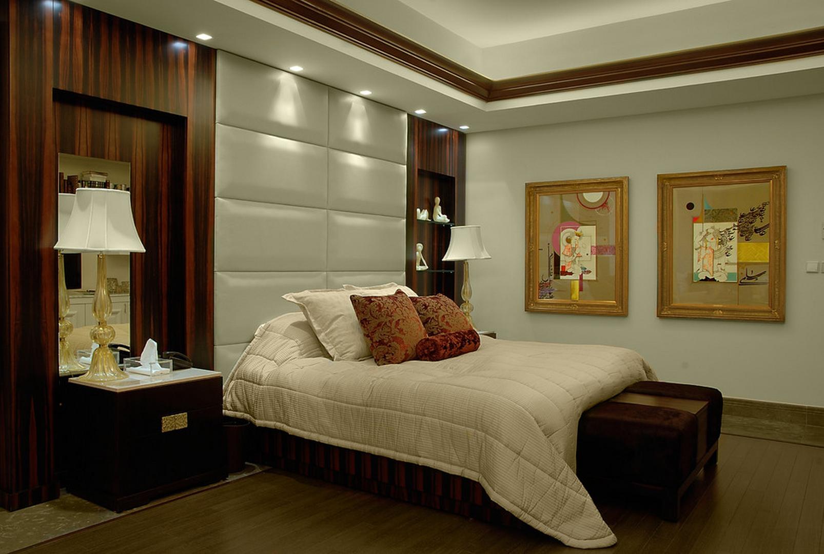 Потолок в спальне своими руками фото