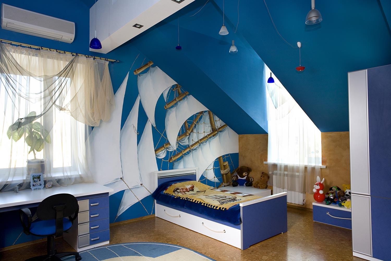 Дизайн в морской тематике