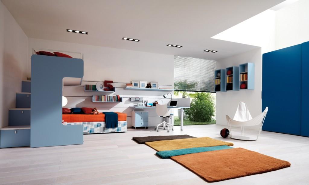 Интерьер детской комнаты для двух разнополых детей