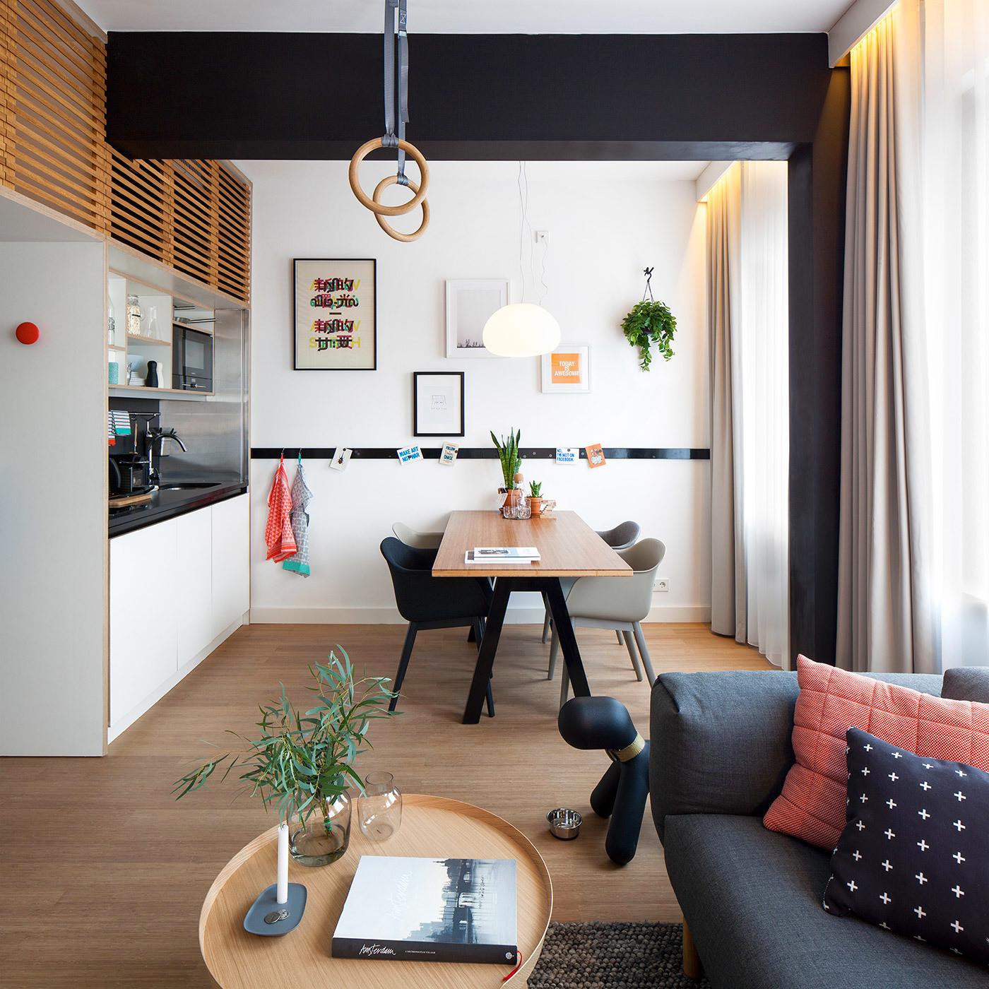 Дизайн студий 15 кв.м