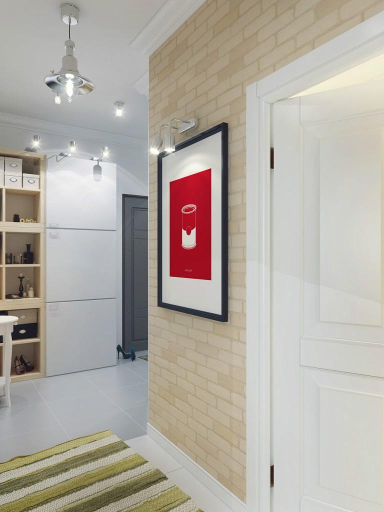 Интерьер в прихожей в квартире