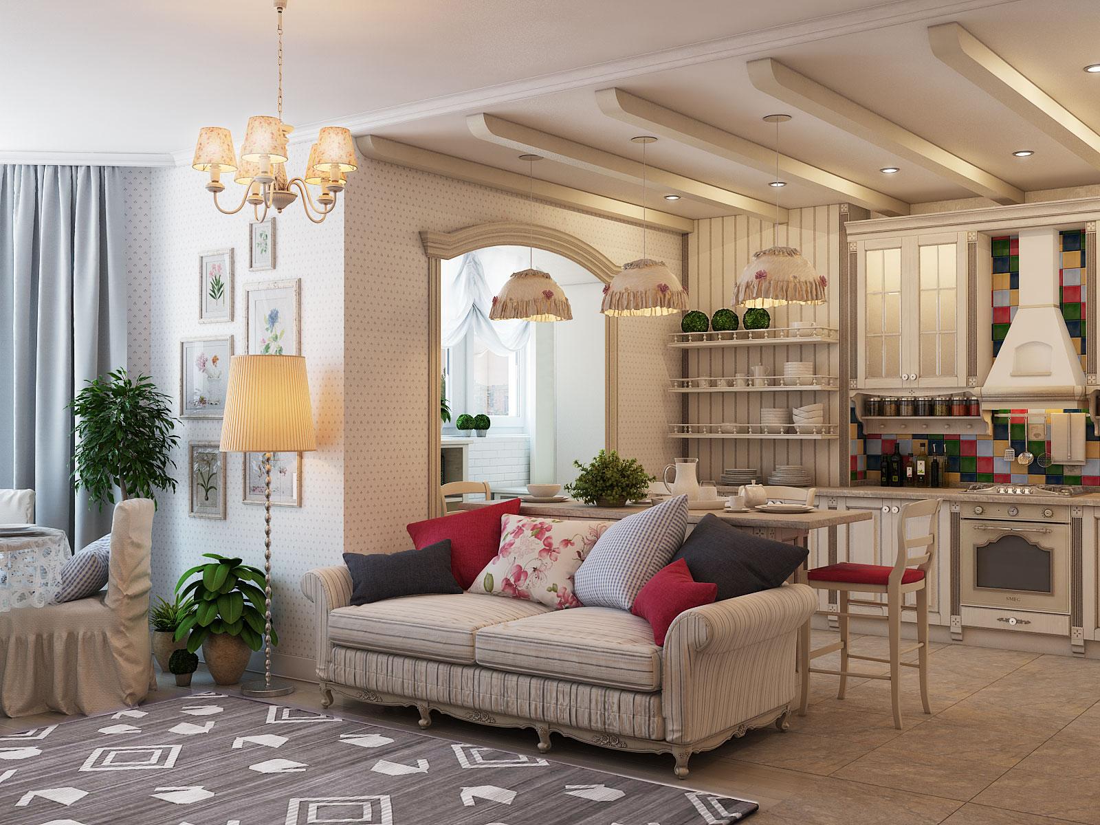 Фото дизайна прованс в квартире