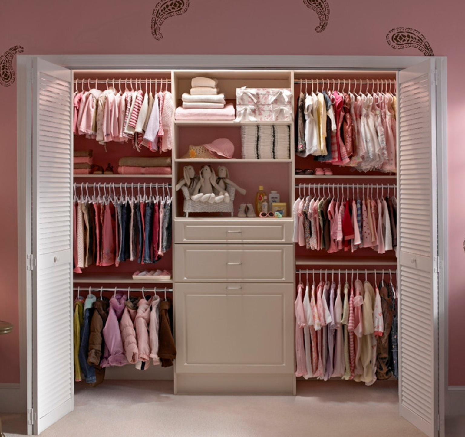 Идеи для гардеробной комнаты.