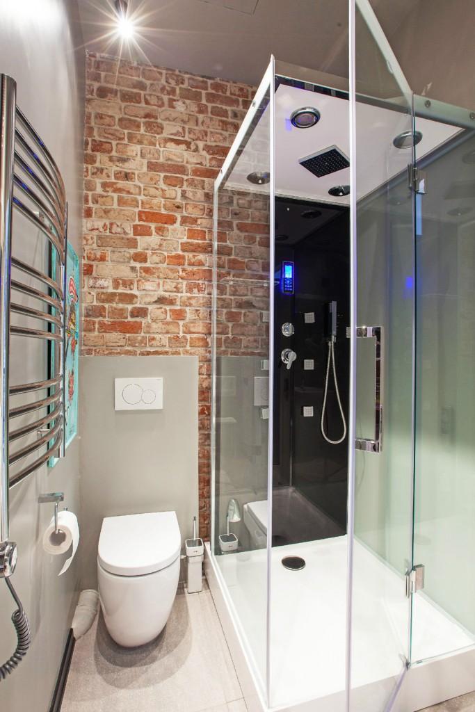 Варианты дизайна ванной комнаты совмещенной с туалетом