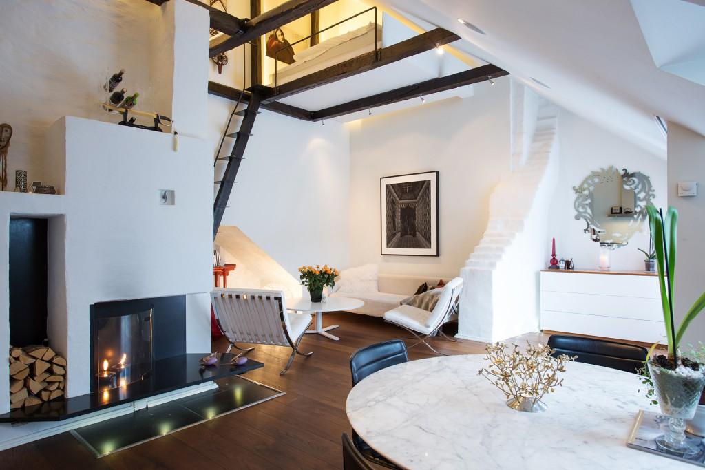 Дизайн квартиры-студии в светлом дизайне