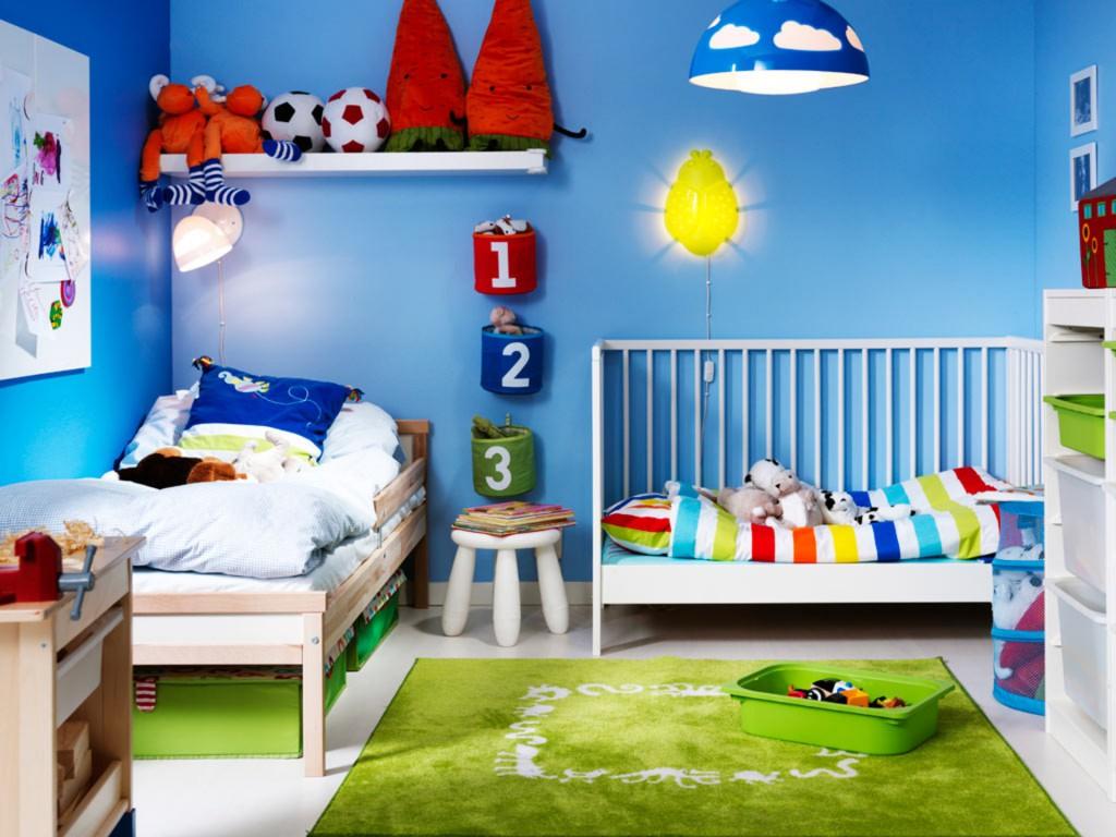 Дизайн детской для двух разнополых детей