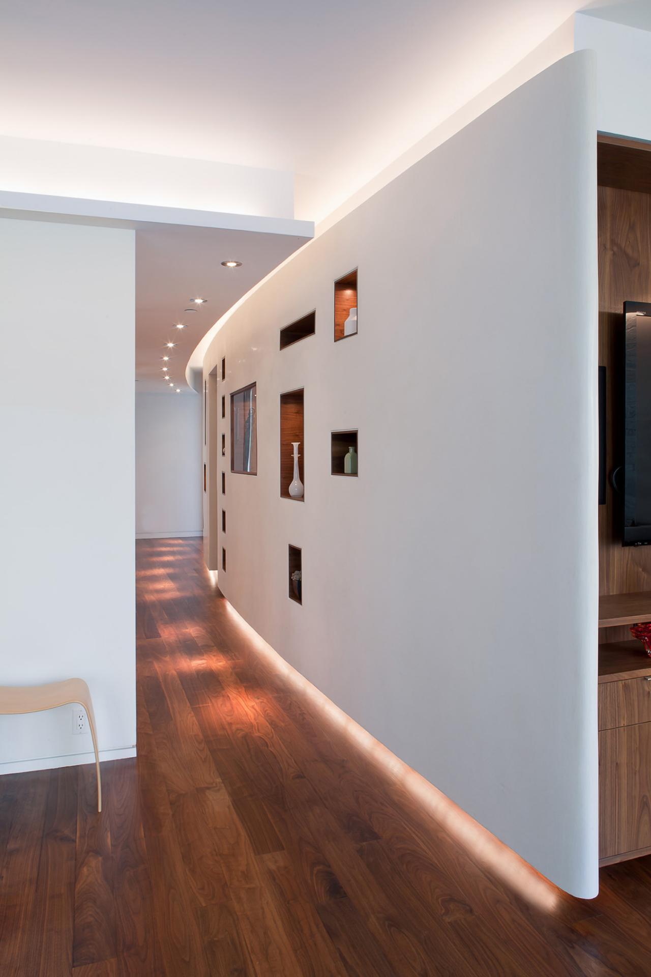 Идея декора коридора  okru