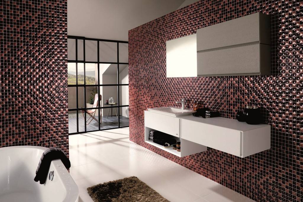 Ceramic tile mosaic designs