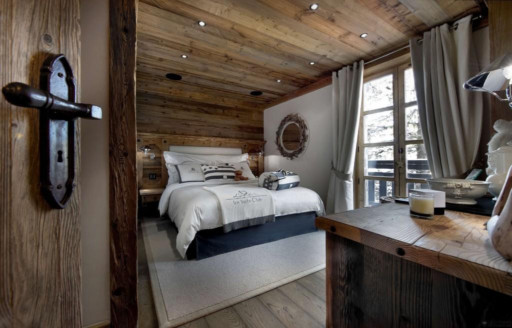 интерьеры спальни с зонированием