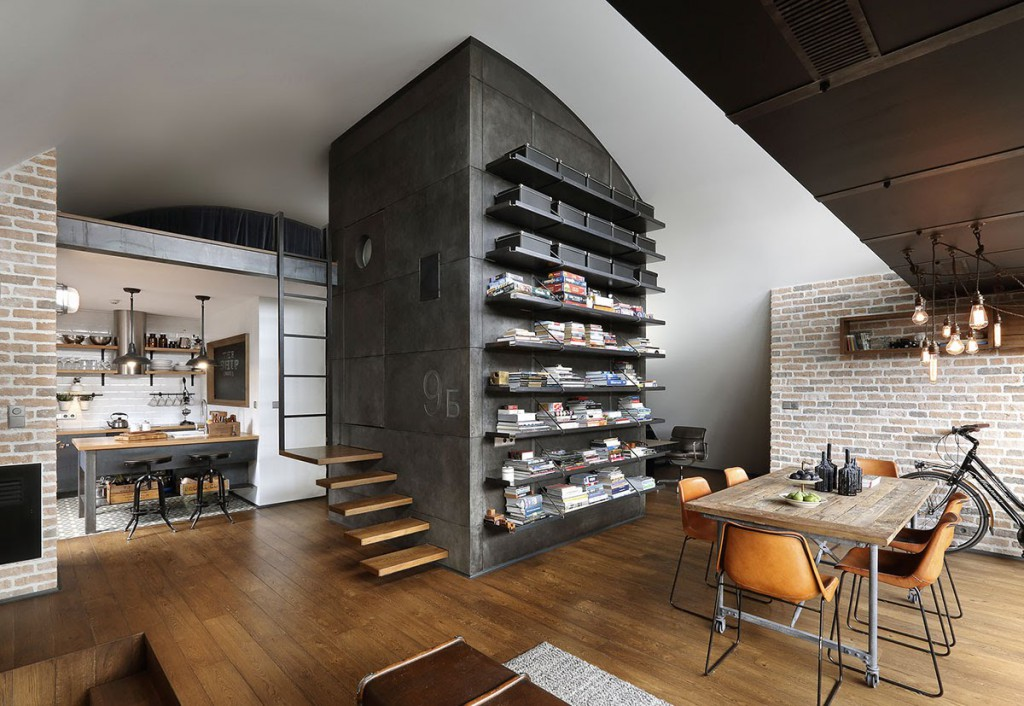 Квартира студия дизайн интерьера